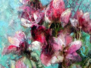 """""""Magnolien"""" , Ausschnitt, 2007,"""
