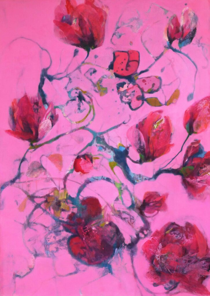 Flora11 Acryl 140 x 100 2020 web